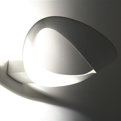 MESMERI LED WHITE - zidna dekorativna svetiljka