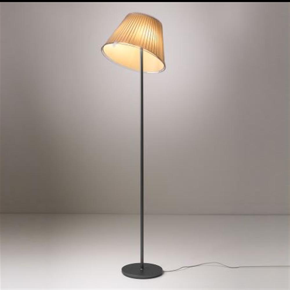CHOOSE Floor - Parchment/Gray anthracite - podna dekorativna svetiljka