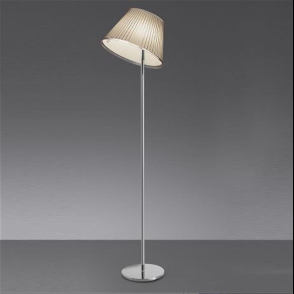 CHOOSE Floor - Parchment/Chrome - podna dekorativna svetiljka