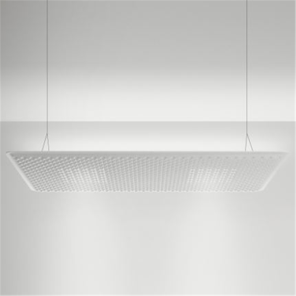 EGGBOARD Matrix - 1600x800 - Direct + Indirect - 3000K - White - viseća akustična svetiljka