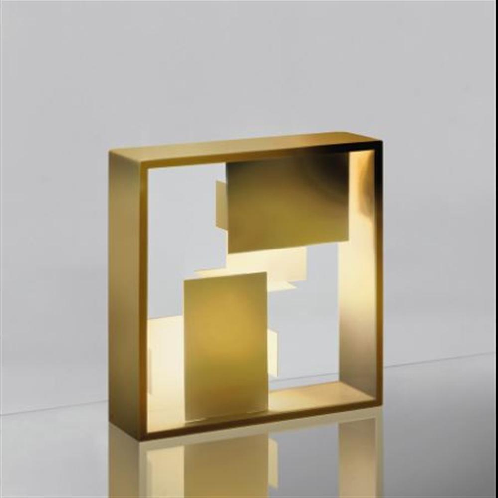 FATO GOLD - stona/zidna dekorativna svetiljka