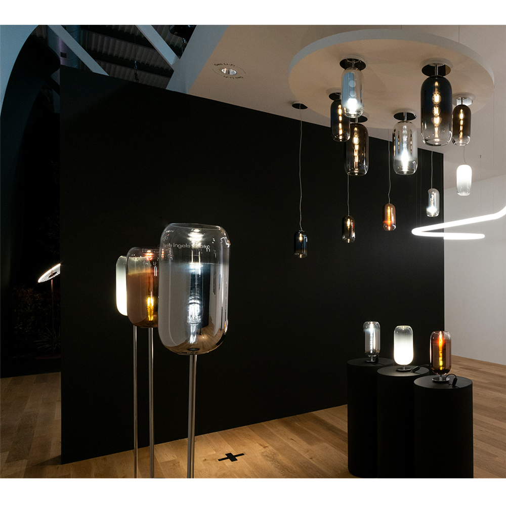 GOPLE Floor SILVER - podna dekorativna svetiljka