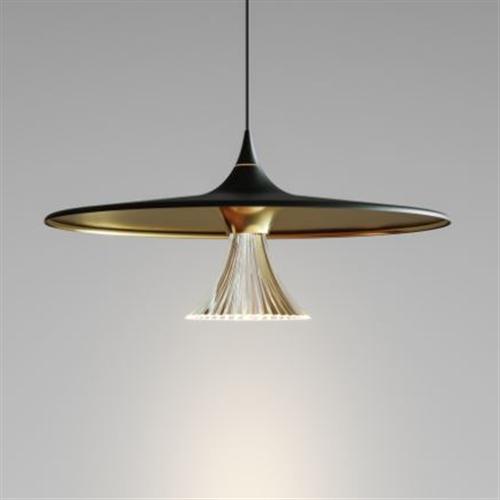 IPNO suspension Black/gold - viseća dekorativna svetiljka
