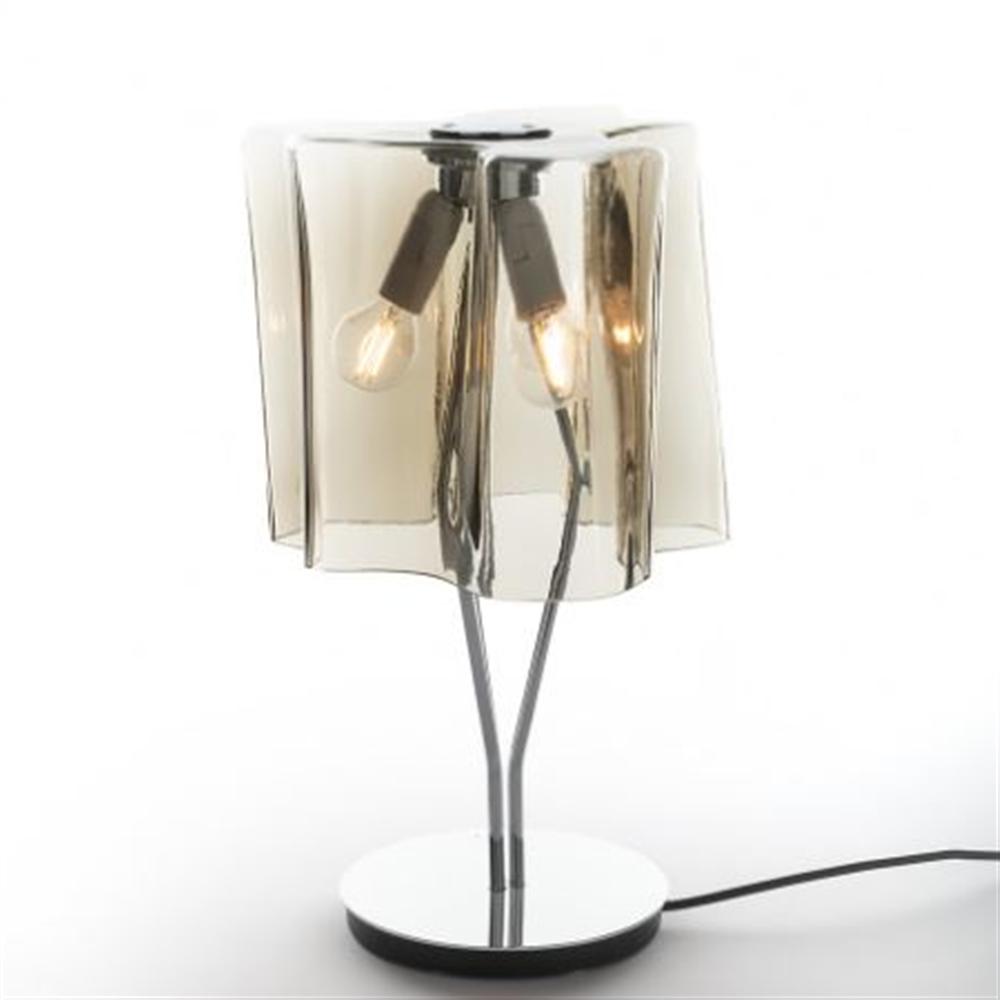 LOGICO Mini table Fumé/Chrome - stona dekorativna svetiljka