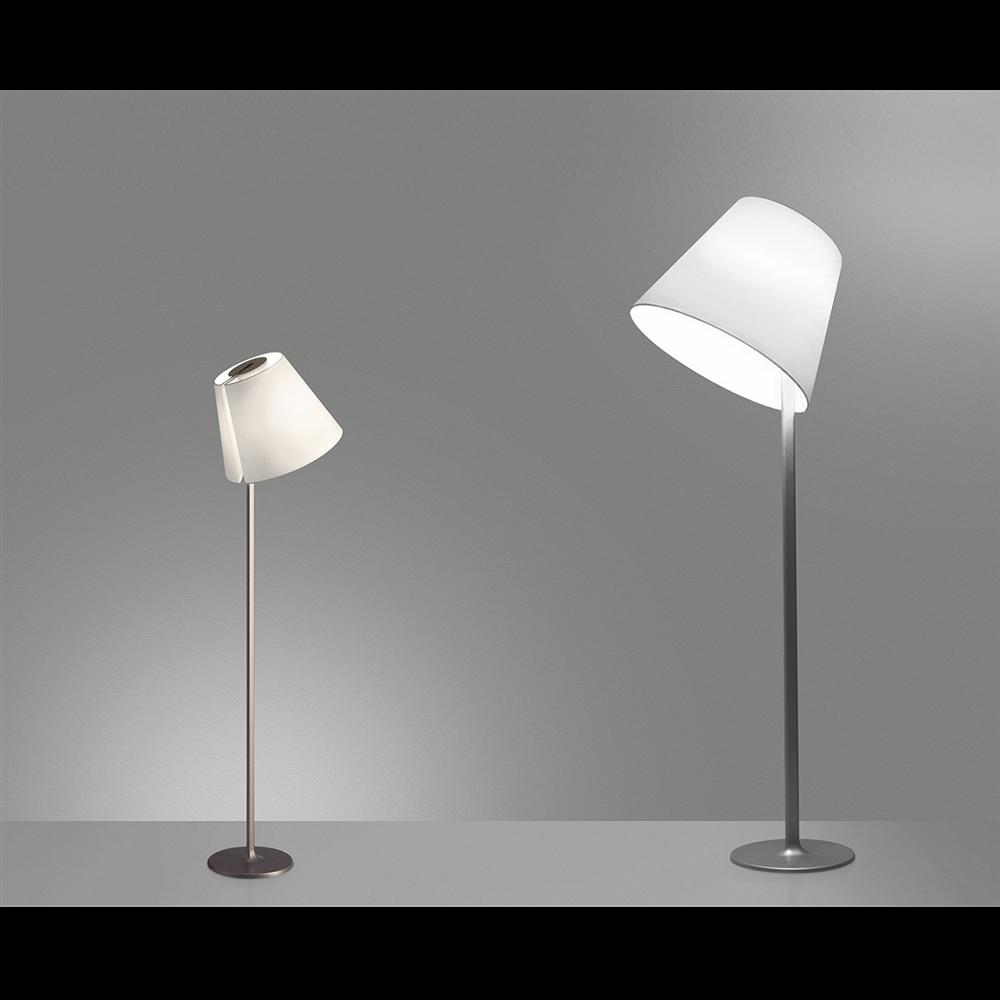 MELAMPO MEGA F BRONZE - podna dekorativna svetiljka