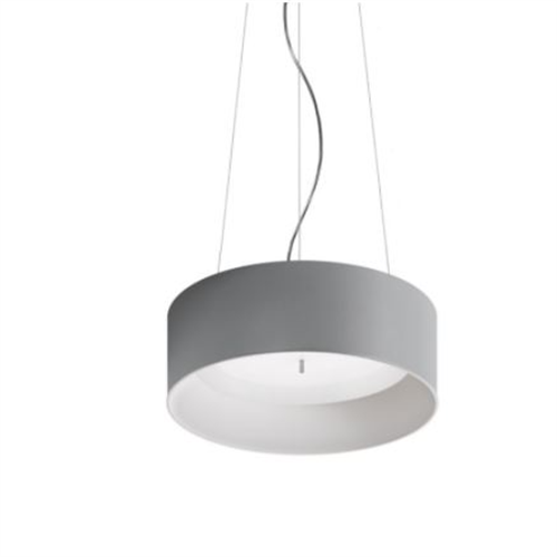 TAGORA SUSPENSION 570 - DIRECT EMISSION - DIMMABLE - GRAY/WHITE