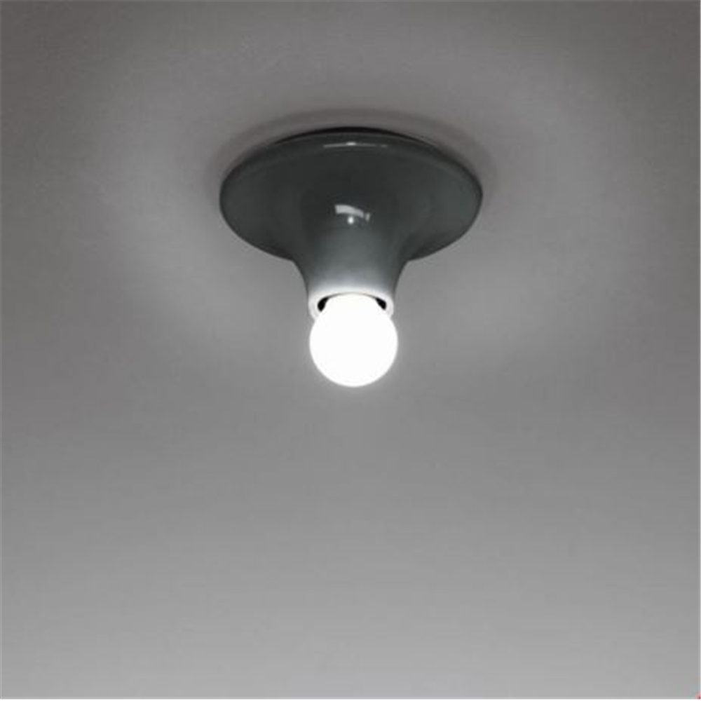 TETI Graphite Black - zidna / plafonska dekorativna svetiljka