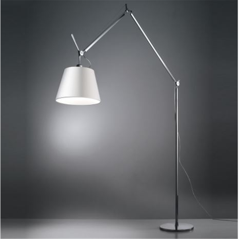 TOLOMEO MEGA FLOOR LED 3000K - Alluminium - Dimmer - Body Lamp - podna svetiljka