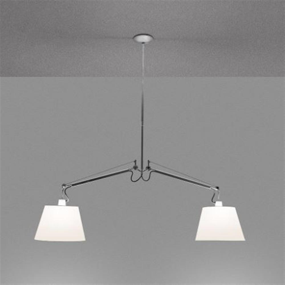 TOLOMEO SUSPENSION BASCULANTE 2 BRACCI - BODY LAMP - viseća dekorativna svetiljka