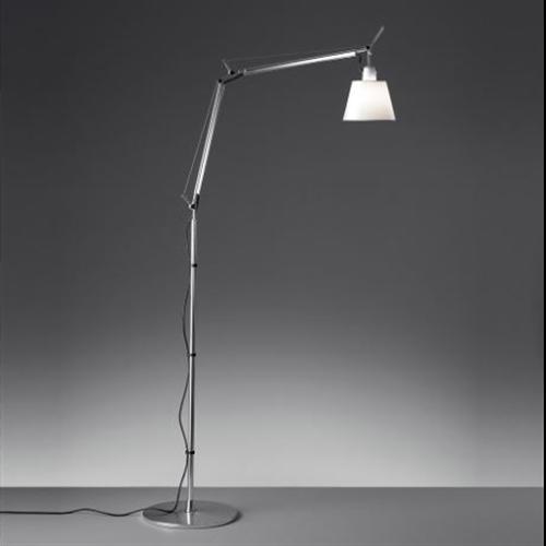 TOLOMEO BASCULANTE PERGAMENT- DIFF. O180 - podna dekorativna svetiljka