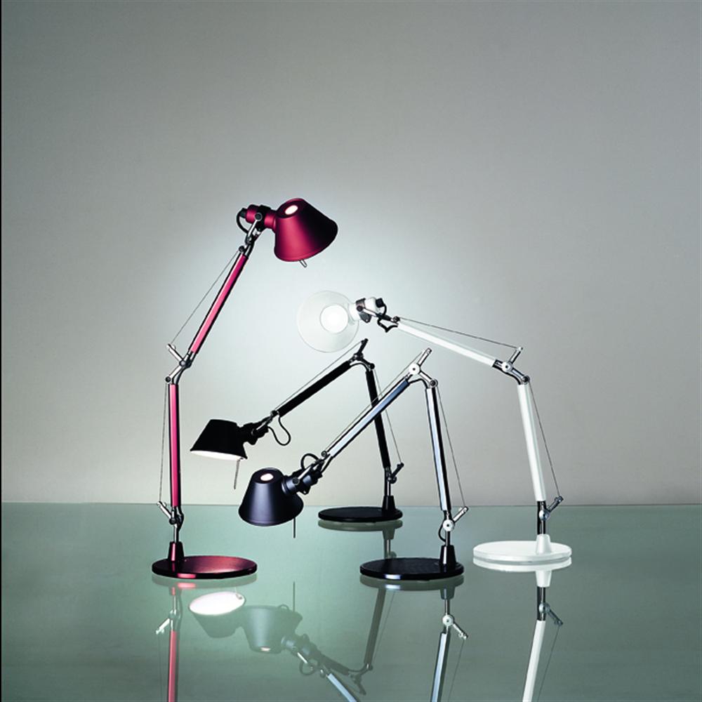 TOLOMEO MICRO TABLE RED - stona svetiljka