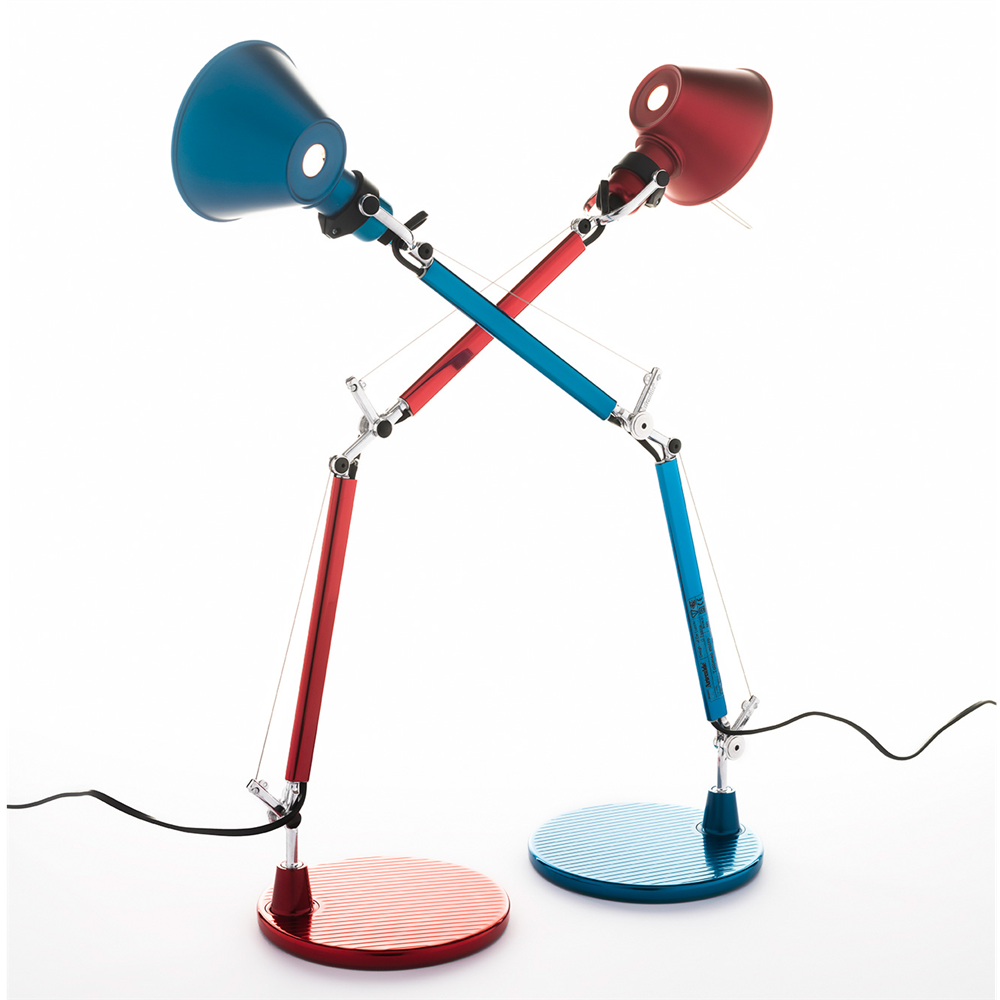 TOLOMEO MICRO TABLE BLUE - stona svetiljka