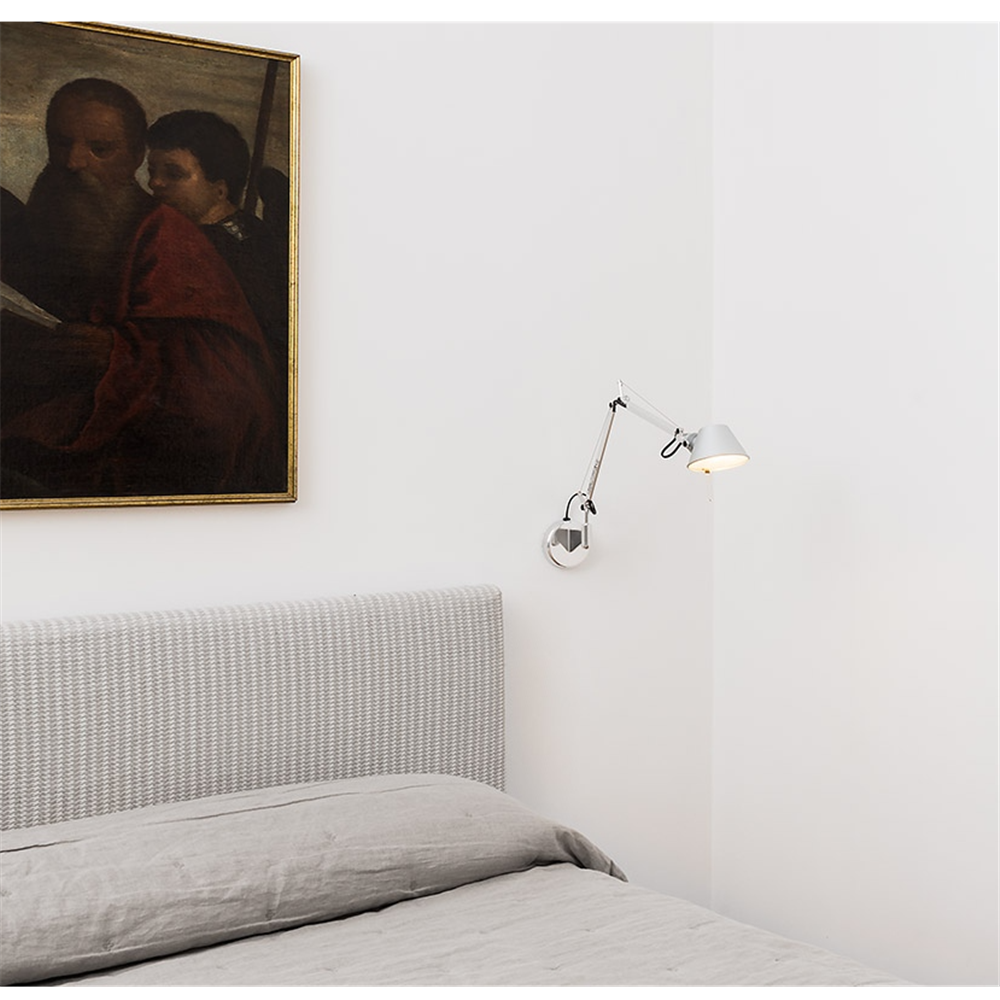 TOLOMEO MICRO WALL RED - zidna svetiljka