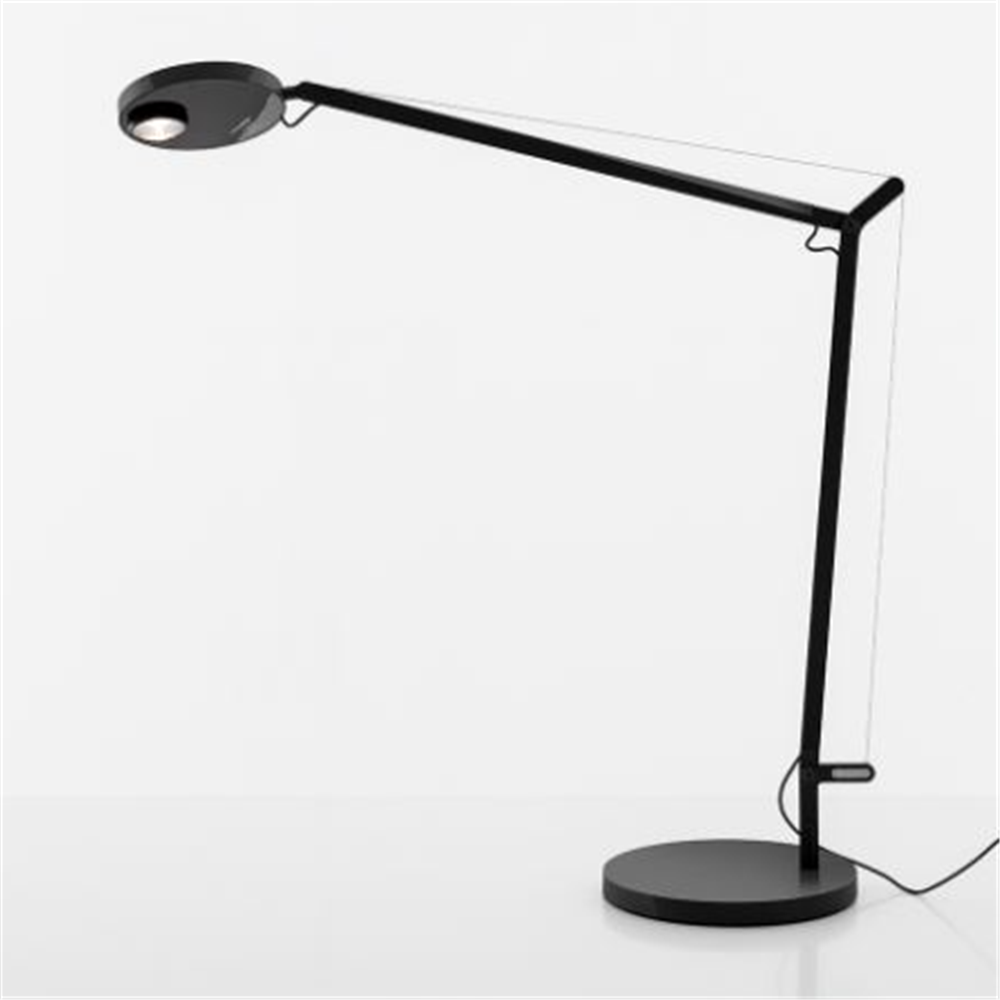 Demetra Professional Table - 3000K - Body Lamp - Opaque Black - stona svetiljka