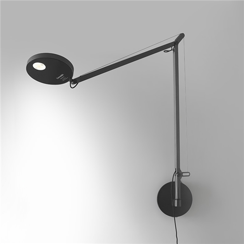 Demetra Wall - 3000K - Body Lamp - Opaque Black -  zidna svetiljka