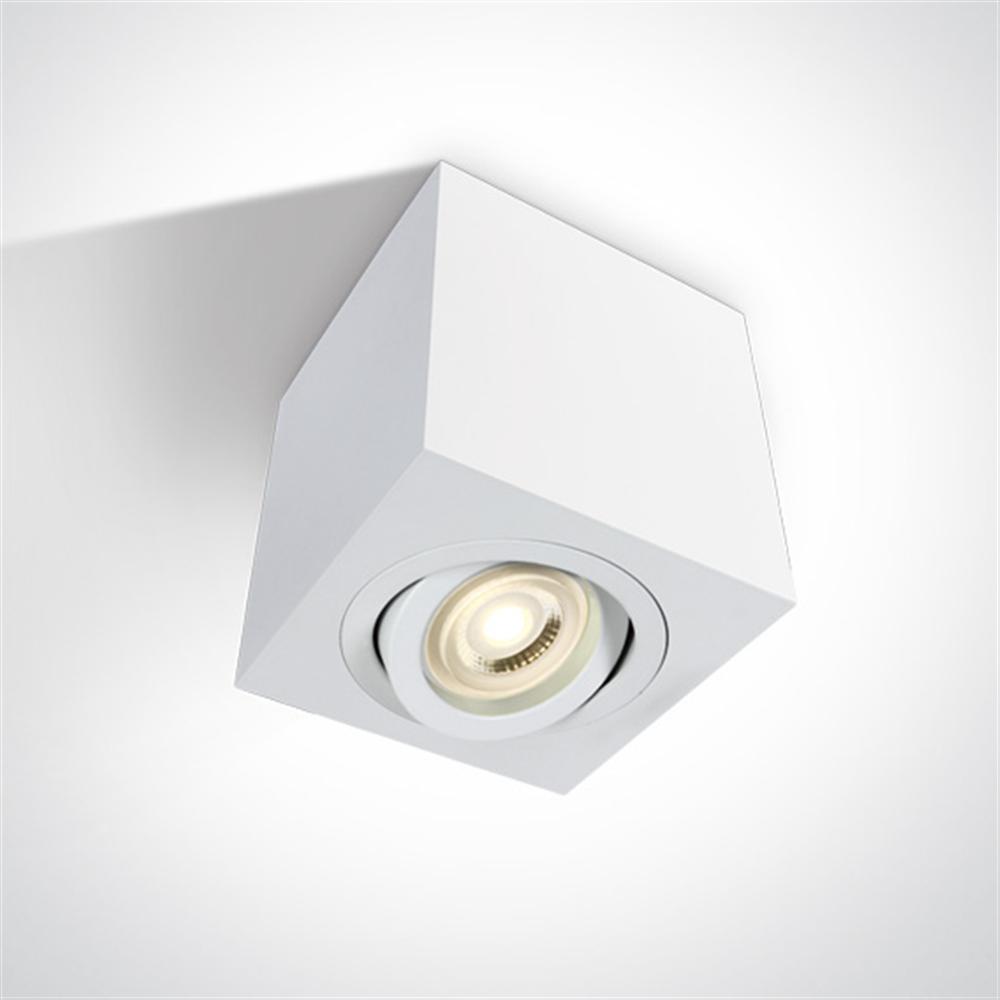 The GU10 Ceiling Lights Aluminium - nadgradna plafonska svetiljka