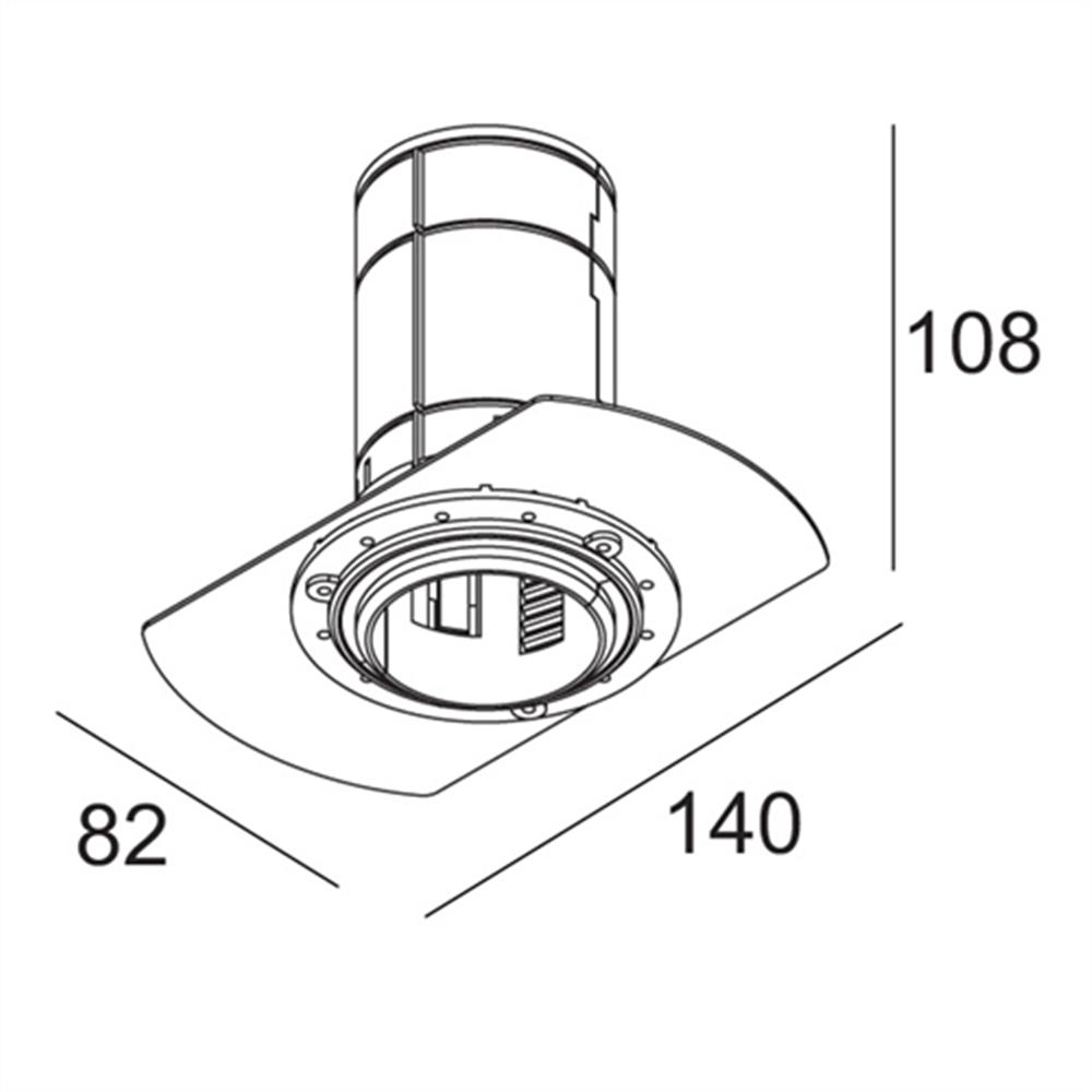 MIDISPY TRIMLESS 93040 - ugradna plafonska svetiljka