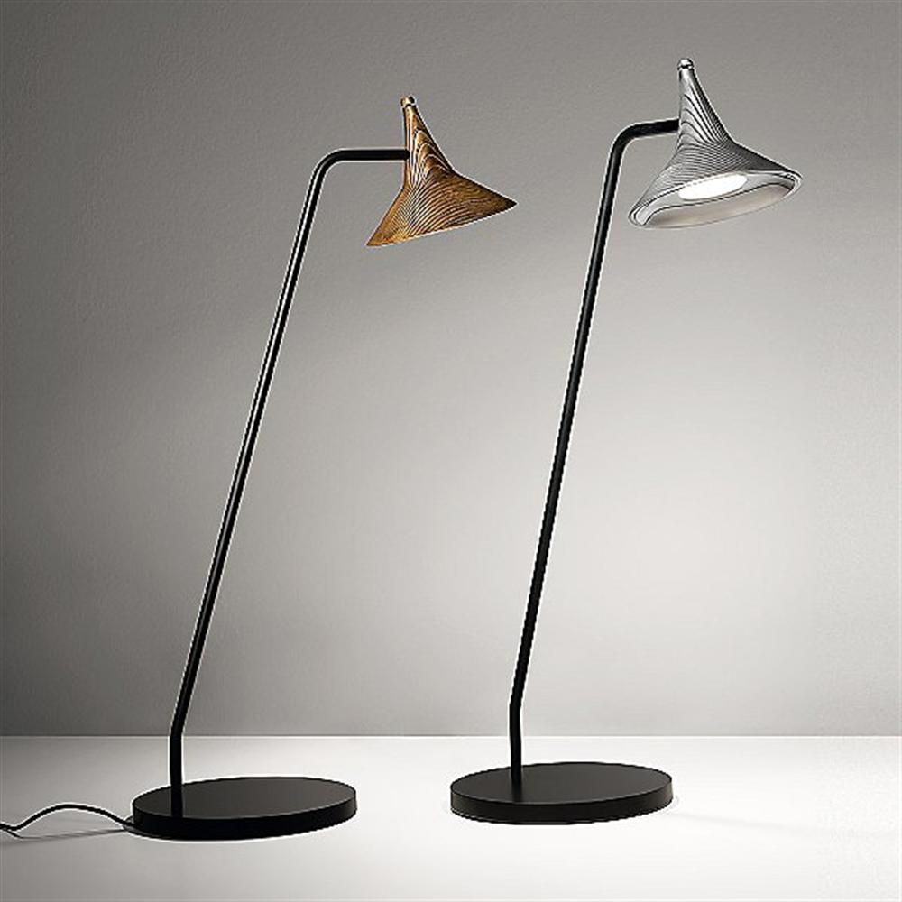 UNTERLINDEN TABLE LED 3000K ALUMINIUM - Stona dekorativna svetiljka