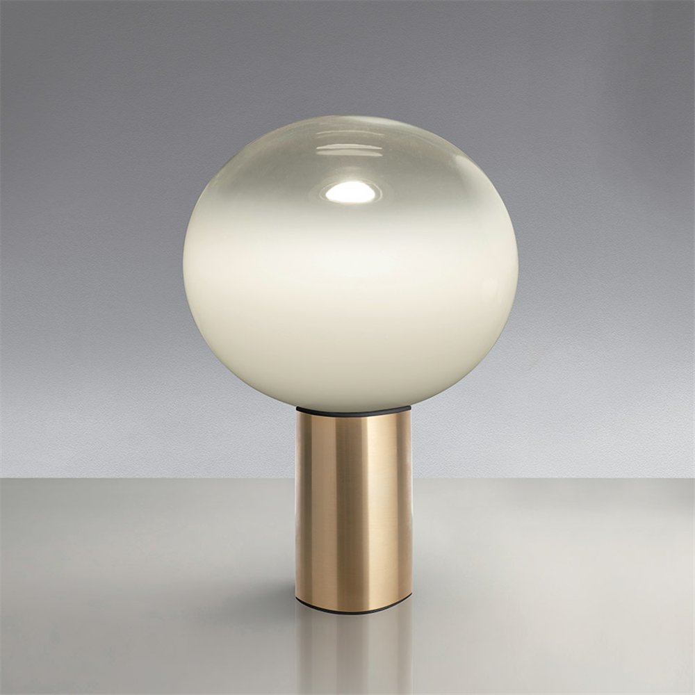 LAGUNA 16 TABLE SATIN BRASS - stona dekorativna svetiljka