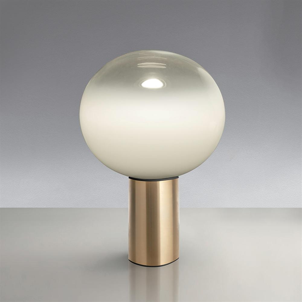 LAGUNA 26 TABLE SATIN BRASS - stona dekorativna svetiljka