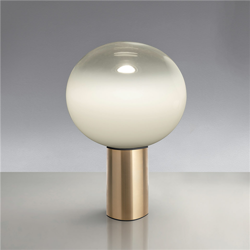LAGUNA 26 TABLE SATIN BRASS - stona dekorativna svetiljka