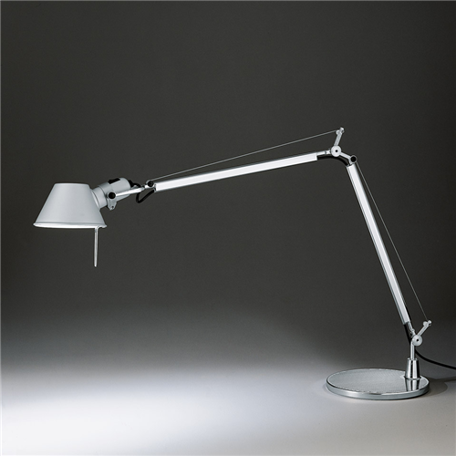 TOLOMEO TABLE METAL GREY - stona svetiljka