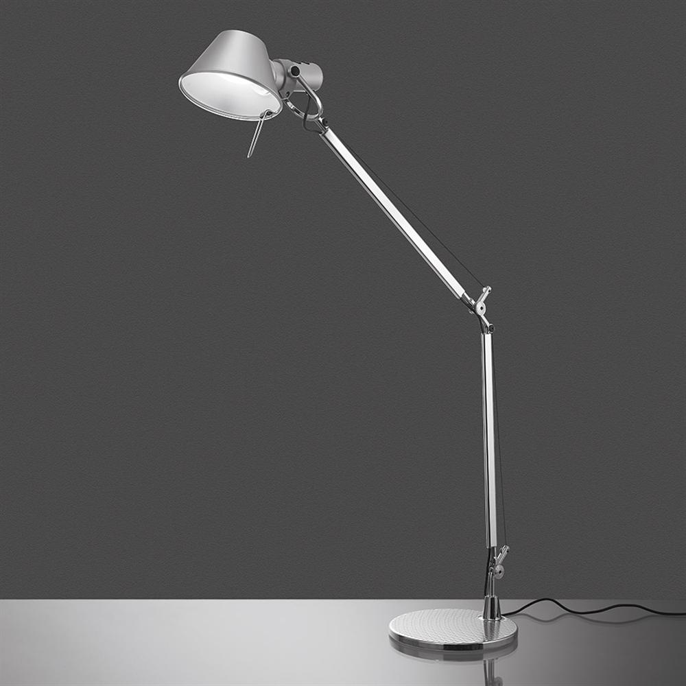 TOLOMEO TABLE LED TW ALUMINIUM - stona svetiljka