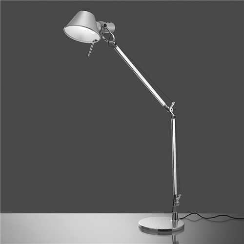 TOLOMEO TABLE LED TW ALUMINIUM - stona svetiljka
