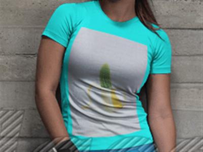 Banana kaktus majica
