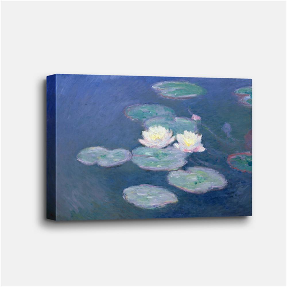 Claude Monet - Water Lilies - Evening effects