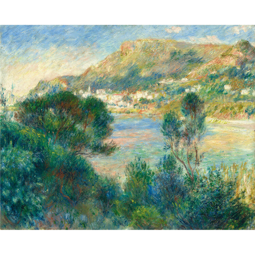 Renoir - View of Monte Carlo from Cap Martin