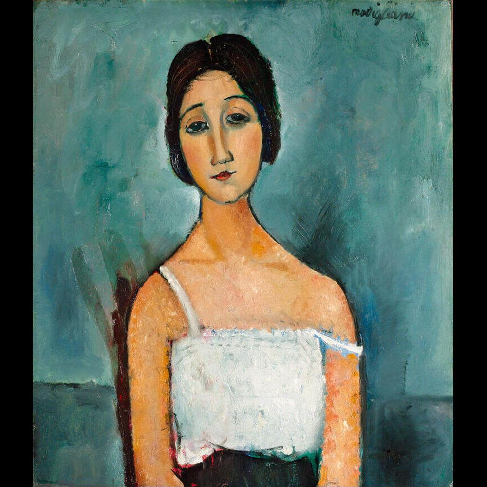 Amedeo Modigliani - Christina