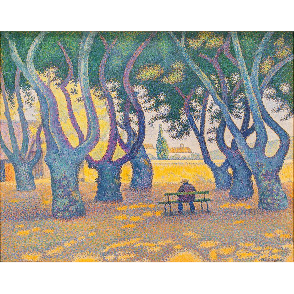 Paul Signac  - Place des Lices St. Tropez