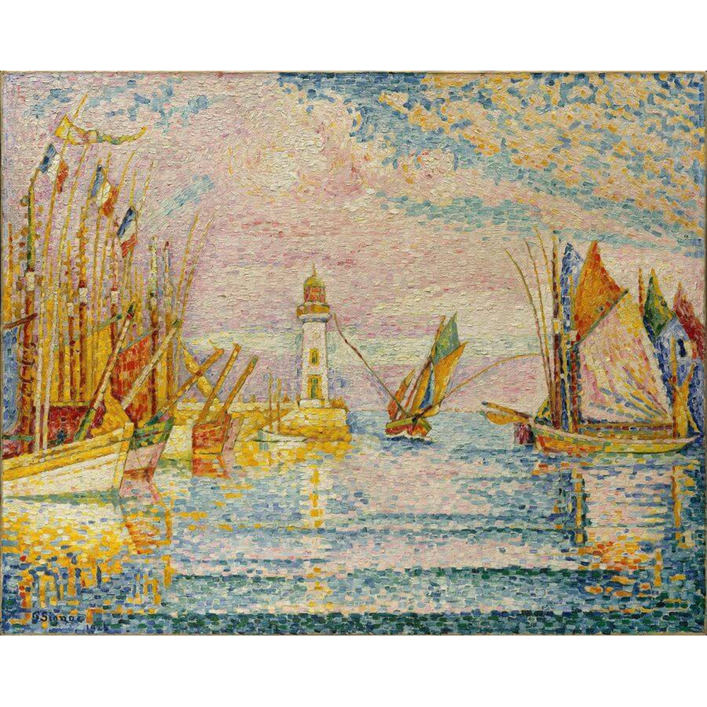 Paul Signac - Le phare
