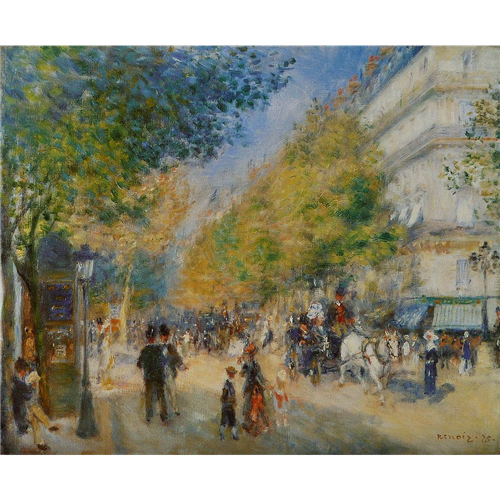 Renoir - The Grands Boulevards