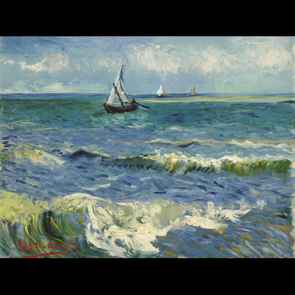 Van Gogh  - Fishing Boats at Saintes-Maries