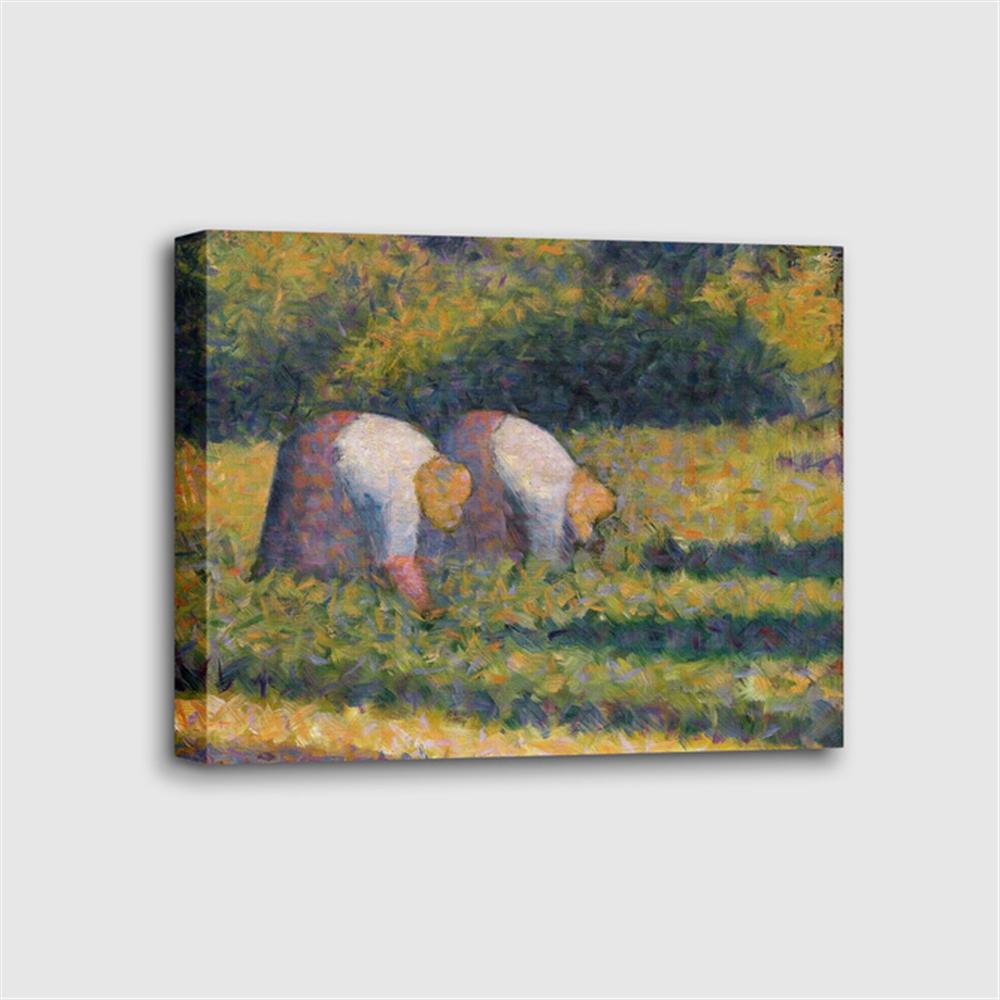 Georges Seurat - Farm Women at Work