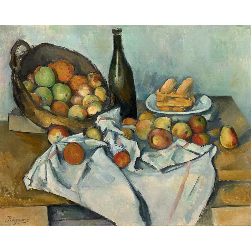 Paul Cezanne - The Basket of Apples