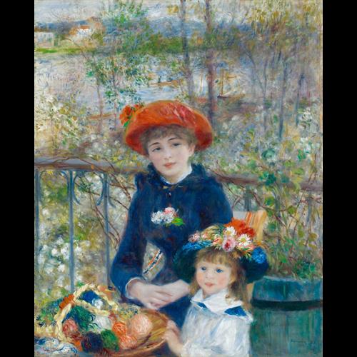Renoir - Two Sisters