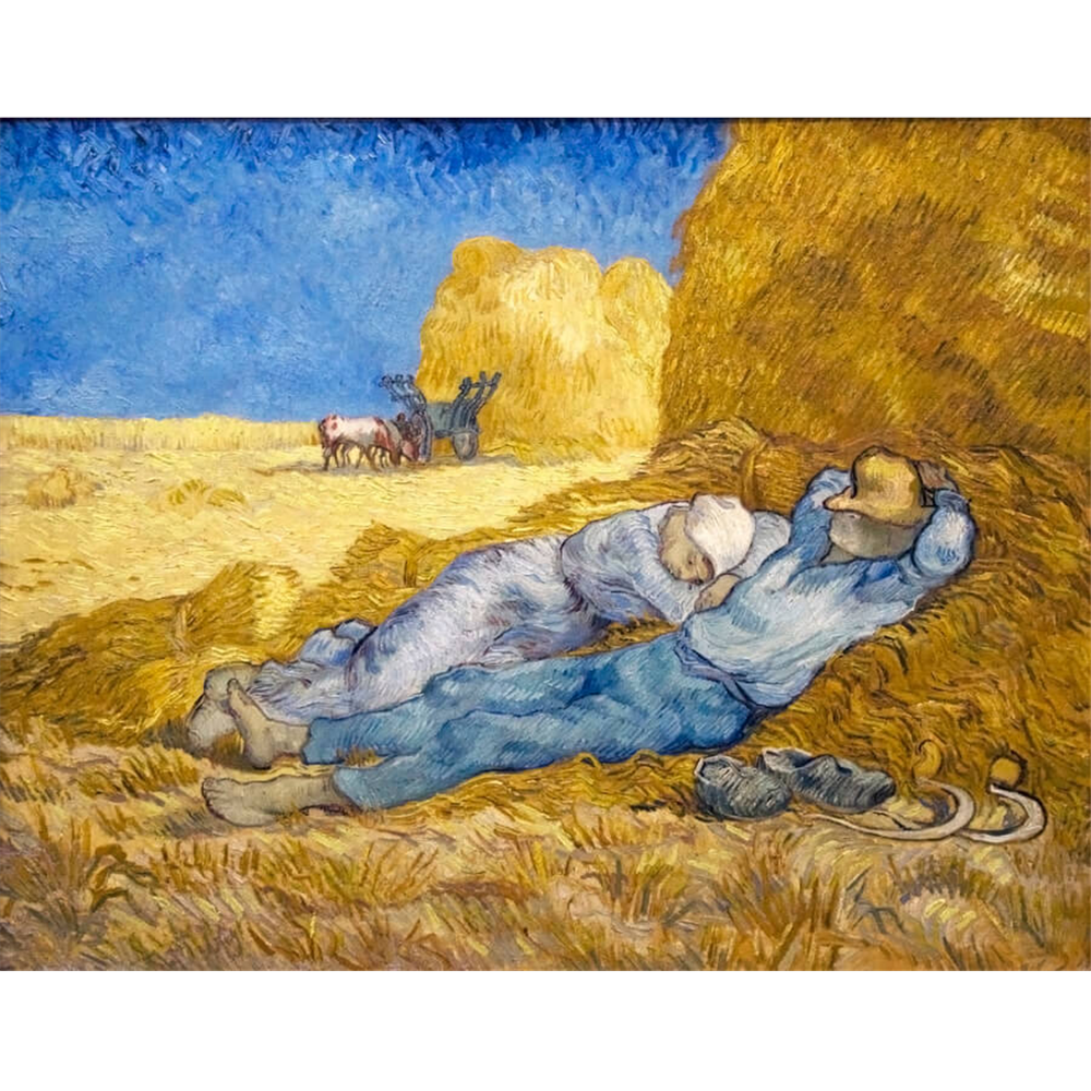Van Gogh  - Noon - Rest from work