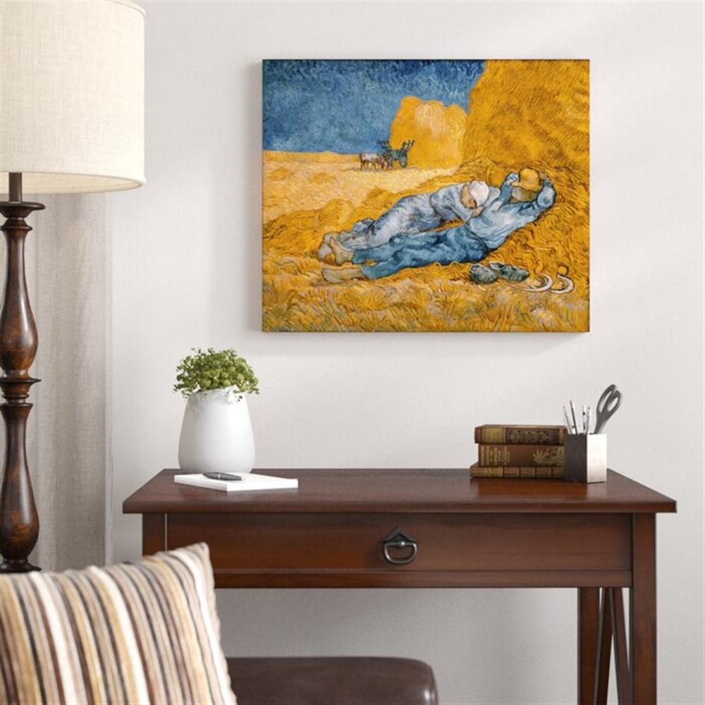 Van Gogh  - Noon - Rest from work