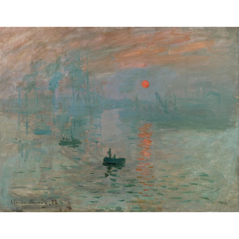 Claude Monet - Sunrise