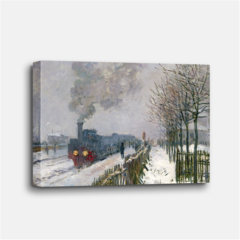 Claude Monet - Train in the snow