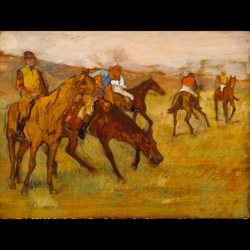 Edgar Degas - Before the Race