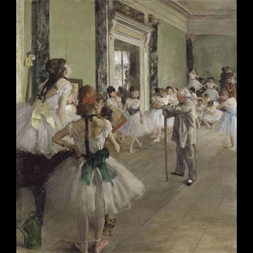 Edgar Degas - The Ballet Class