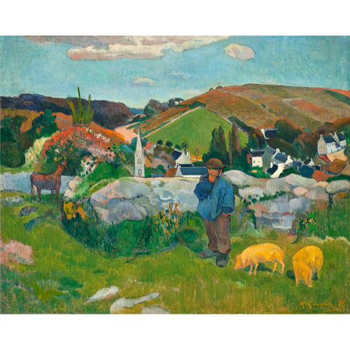 Paul Gauguin - The Swineherd
