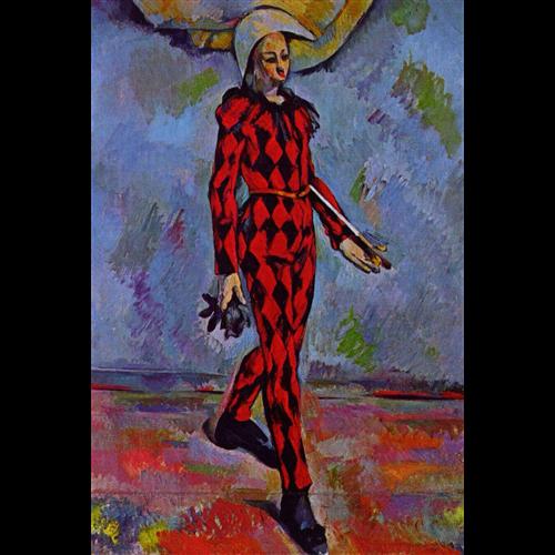 Paul Cezanne - Harlequin
