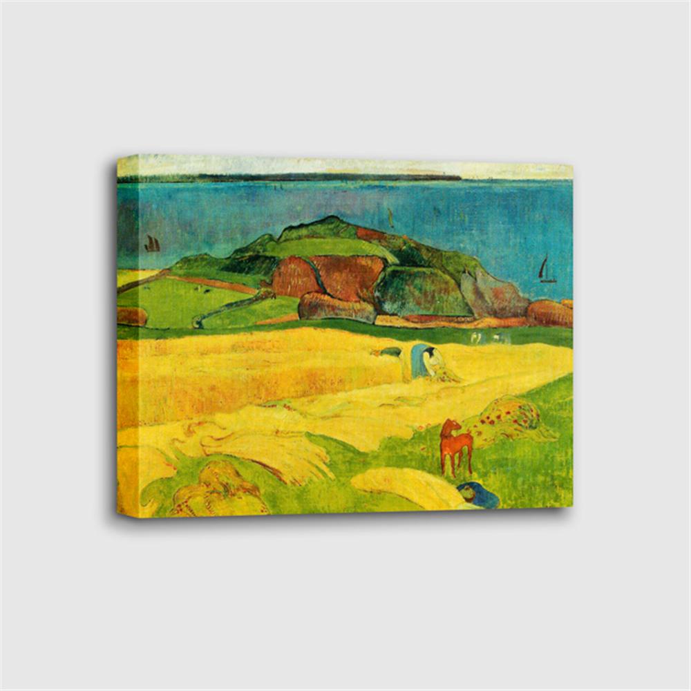 Paul Gauguin - Seaside Harvest Le Pouldu