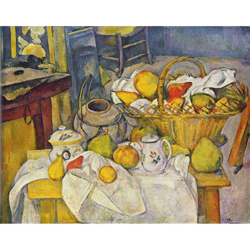 Paul Cezanne - Kitchen Table