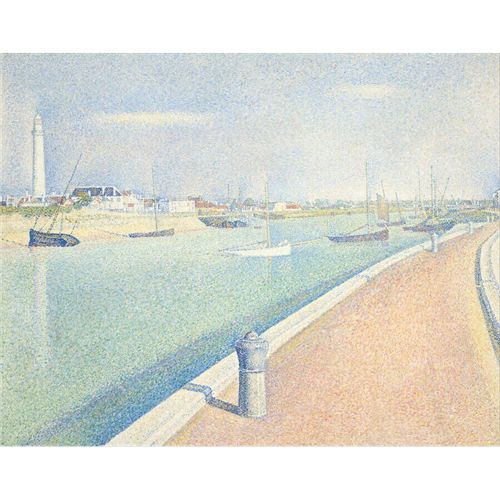 Georges Seurat - The Channel of Gravelines